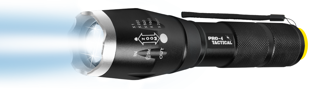 pro 4 tactical flashlight