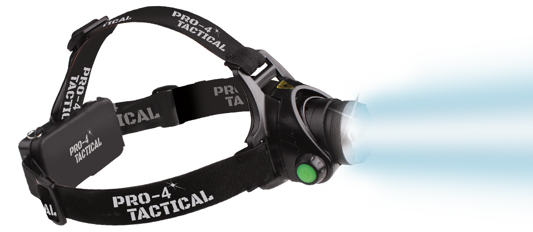 pro 4 tactical head lamp