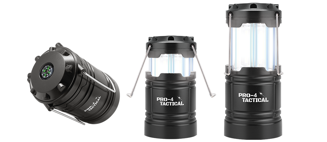 pro 4 tactical lantern with compass