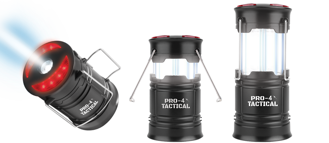 pro 4 tactical lantern with flashlight
