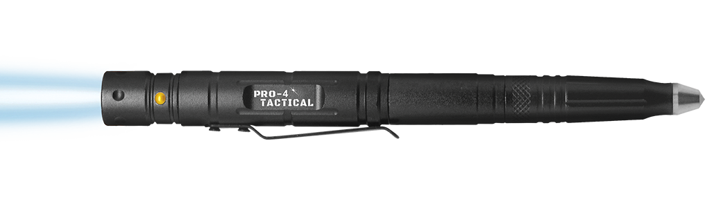 pro 4 tactical survival pen with flashlight