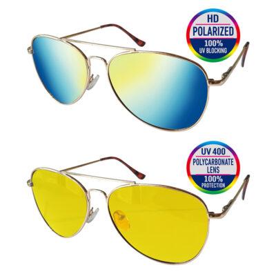 HD Protective Eyewear Aviator