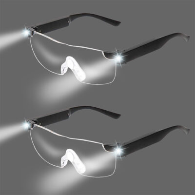 Magnifier Glasses with LED Lights